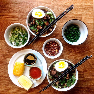 For Ever and Ever: ASA's Ramen
